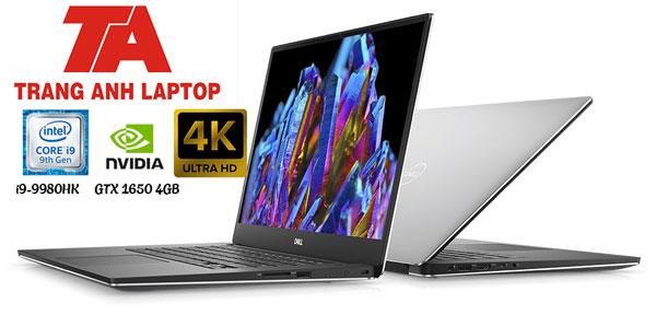 Dell XPS 15 7590 i9-9980HK Ram 32GB SSD 1TB 15.6″ 4K  GTX 1650 4GB New Full Box