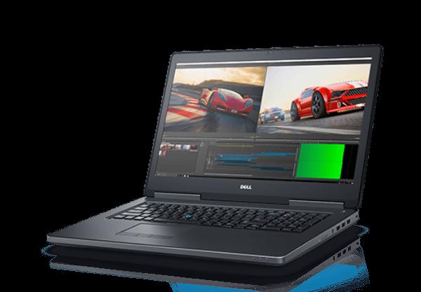 Dell Precision 7720 i7-6820HQ Ram 16GB SSD 512GB – 17.3″ -FHD – M1200
