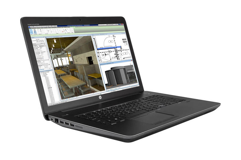Thiết kế HP ZBOOK 17 G3