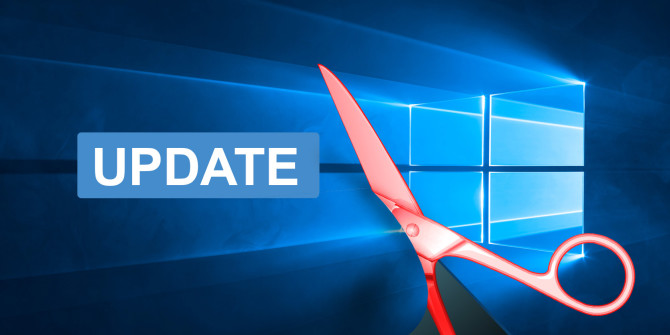 Cách tắt Windows Update trên Windows 10